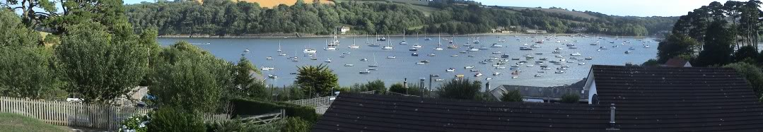 Helford Passage - Helford River from the car park (c) Martin Imber