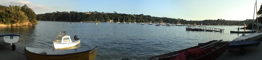 Helford Passage - Helford River from the road (c) Martin Imber